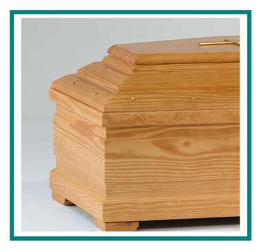 rotastyle casket manufacturer americanina smooth yellow pine detail1