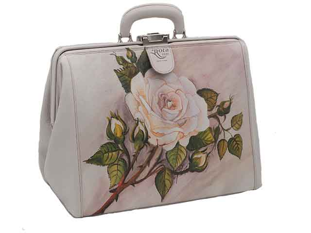 rotastyle bag for transport urns rosa silvia leather
